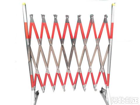 不锈钢片式伸缩围栏
