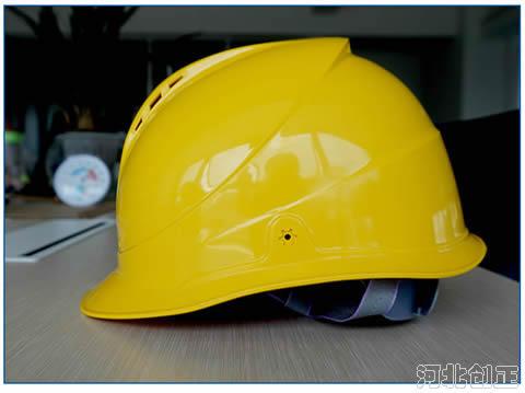 一字型ABS透气安全帽