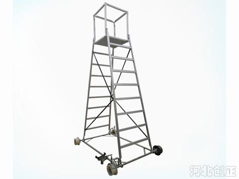 铁路接触网铝合金梯车